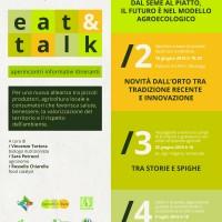 Al via gli APERINCONTRI EAT&TALK!!