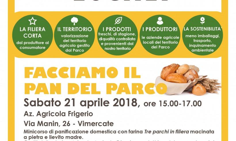 Sabato 21 aprile: Facciamo il Pan del Parco!